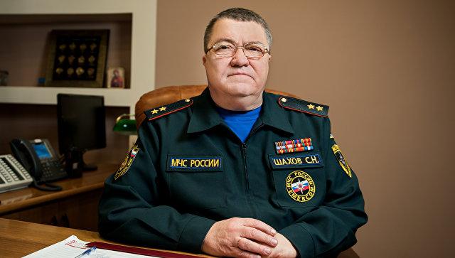 """Сергей Шахов. Фото: """"МЧС"""""""