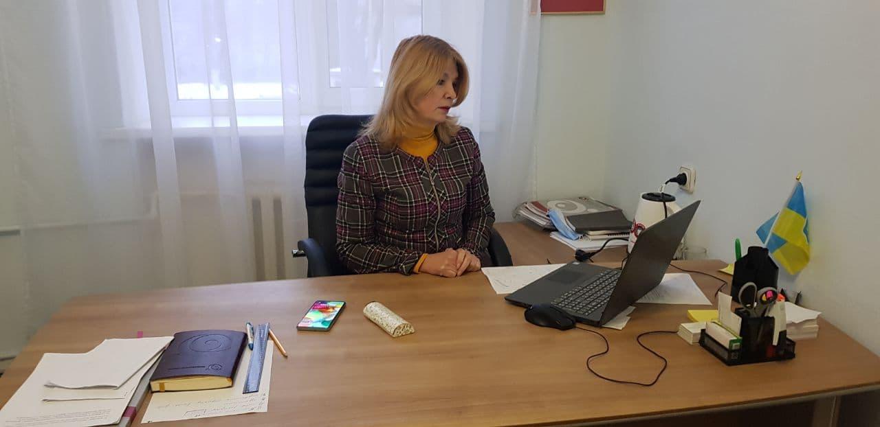 Представитель Уполномоченного по соблюдению прав жителей АР Крым и г. СевастополяИрина Веригина