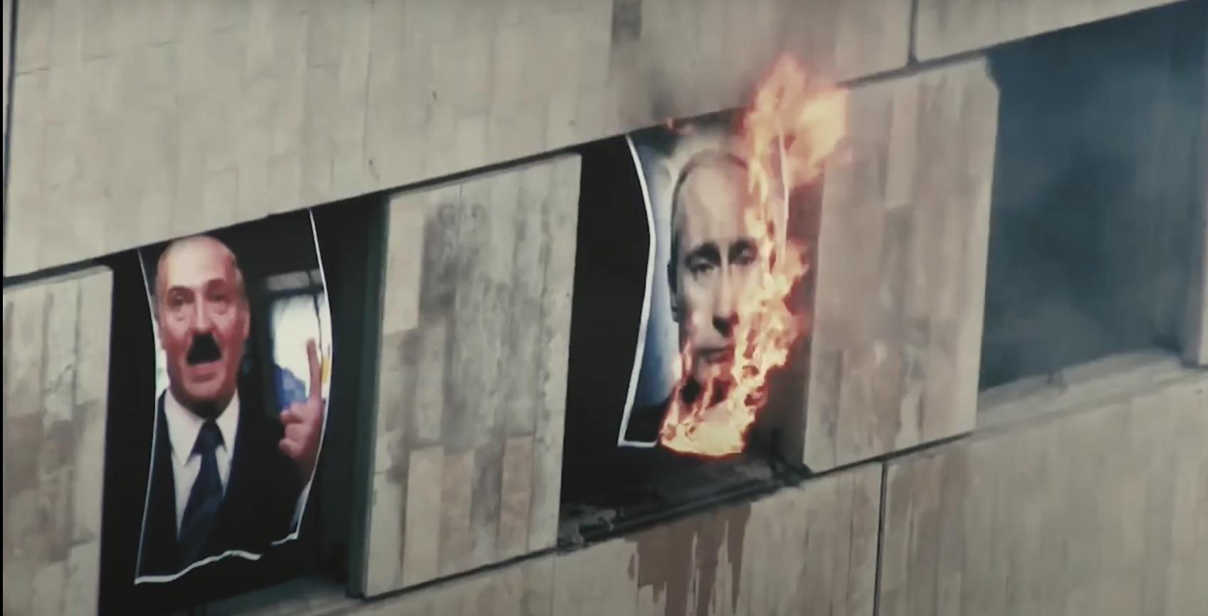 """Скриншот видеоклипа """"Социальный элемент"""""""