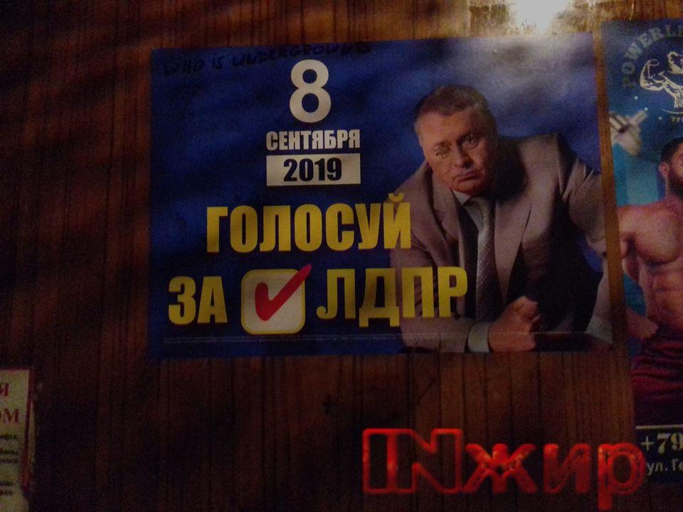 Предвыборная агитация ЛДПР