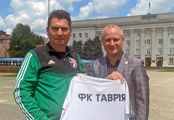 Сергей Пучков. Фото: ФК Таврия Симферополь