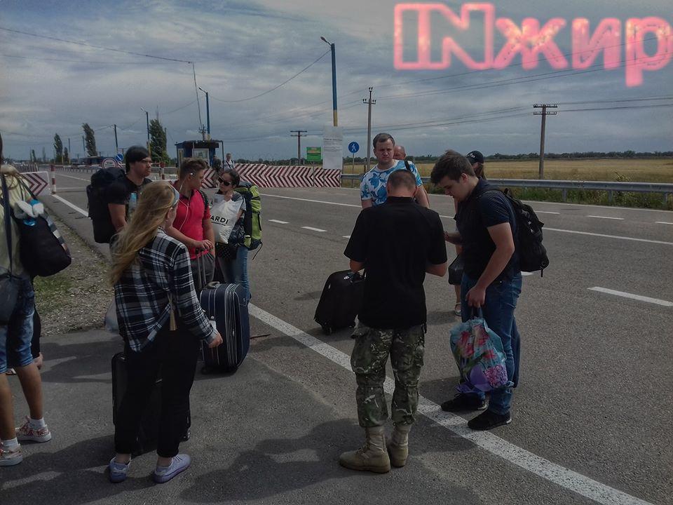 """Проверка документов на КПВВ """"Колончак"""""""